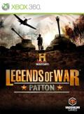 History Legends of War: Patton Xbox 360 Front Cover