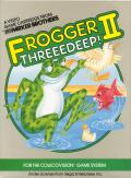 Frogger II: ThreeeDeep! ColecoVision Front Cover