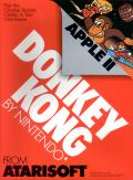 Donkey Kong Apple II Front Cover