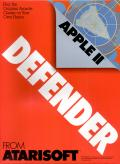 Defender Apple II Front Cover