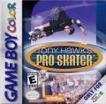 Tony Hawk's Pro Skater Game Boy Color Front Cover