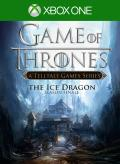 Game of Thrones: Season Finale - The Ice Dragon Xbox One Front Cover 1st version
