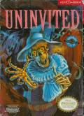 Uninvited NES Front Cover