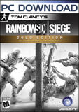 Tom Clancy's Rainbow Six: Siege (Gold Edition) Windows Front Cover
