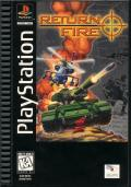 Return Fire PlayStation Front Cover