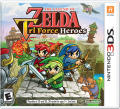 The Legend of Zelda: Tri Force Heroes Nintendo 3DS Front Cover