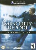 Minority Report: Everybody Runs GameCube Front Cover