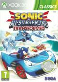 Sonic & All-Stars Racing: Transformed Xbox 360 Front Cover