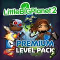 LittleBigPlanet 2: DC Comics Premium Level Kit PlayStation 3 Front Cover