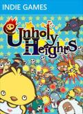 Unholy Heights Xbox 360 Front Cover