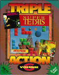 Triple Action: Volume 6 DOS Front Cover
