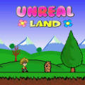 Unreal Land iPad Front Cover