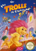 The Trolls in Crazyland NES Front Cover
