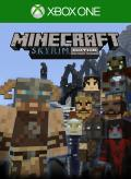 Minecraft: PlayStation 4 Edition - Skyrim Mash-up Xbox One Front Cover