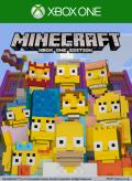 Minecraft: PlayStation 4 Edition - The Simpsons Skin Pack Xbox One Front Cover