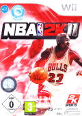 NBA 2K11 Wii Front Cover