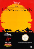 Disney's The Lion King NES Front Cover