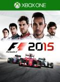F1 2015 Xbox One Front Cover