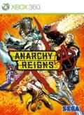 Anarchy Reigns Xbox 360 Front Cover
