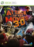 Attack of the Movies 3-D Xbox 360 Front Cover