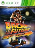 Back to the Future: The Game Xbox 360 Front Cover