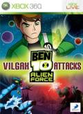 Ben 10: Alien Force - Vilgax Attacks Xbox 360 Front Cover