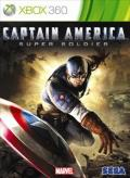 Captain America: Super Soldier Xbox 360 Front Cover