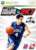 College Hoops NCAA 2K7 Xbox 360 Front Cover