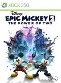 Disney Epic Mickey 2: The Power of Two Xbox 360 Front Cover