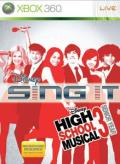 Disney Sing It: High School Musical 3 - Senior Year Xbox 360 Front Cover