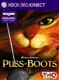 DreamWorks Puss in Boots Xbox 360 Front Cover