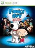 Family Guy: Back to the Multiverse Xbox 360 Front Cover