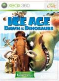 Ice Age: Dawn of the Dinosaurs Xbox 360 Front Cover