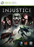 Injustice: Gods Among Us Xbox 360 Front Cover