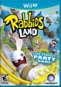 Rabbids Land Wii U Front Cover