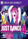 Just Dance 4 Xbox 360 Front Cover