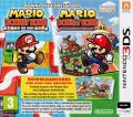 Mario & Donkey Kong: Mini's on the Move / Mario vs. Donkey Kong: Mini's March Again! Nintendo 3DS Front Cover