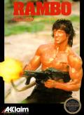 Rambo NES Front Cover