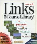 Links: 5-Course Library - Volume 1 DOS Front Cover