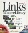 Links: 5-Course Library - Volume 4 DOS Front Cover