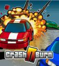 Crash N Burn J2ME Front Cover