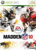 Madden NFL 10 Xbox 360 Front Cover
