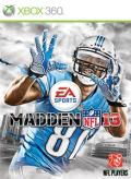 Madden NFL 13 Xbox 360 Front Cover