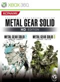 Metal Gear Solid: HD Edition Xbox 360 Front Cover