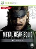 Metal Gear Solid: Peace Walker Xbox 360 Front Cover