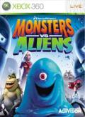 Monsters vs. Aliens Xbox 360 Front Cover