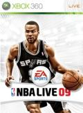 NBA Live 09 Xbox 360 Front Cover