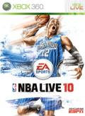 NBA Live 10 Xbox 360 Front Cover