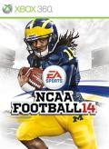 NCAA Football 14 Xbox 360 Front Cover
