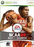 NCAA March Madness 08 Xbox 360 Front Cover